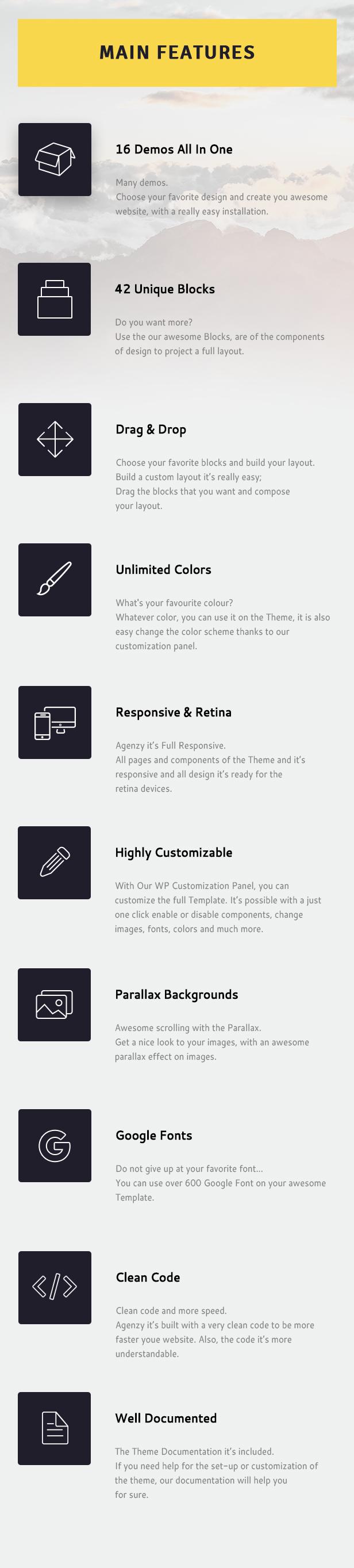 Agenzy - Multi-Purpose WordPress Theme