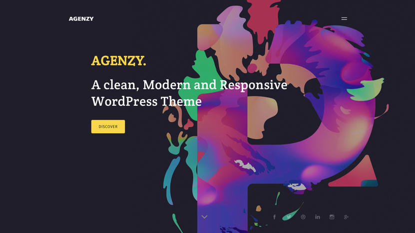 Agenzy Homepage Thumbnail - Template WordPress on Envato Market