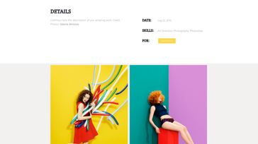 Agenzy Single Page Thumbnail - Template WordPress on Envato Market