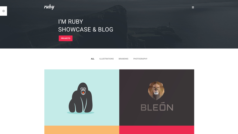 Ruby Homepage Thumbnail - Template WordPress on Envato Market
