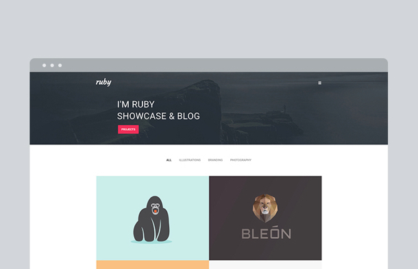 Ruby Thumbnail - WordPress Template on Envato Market